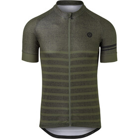 AGU Essential Melange SS Jersey Men, army green